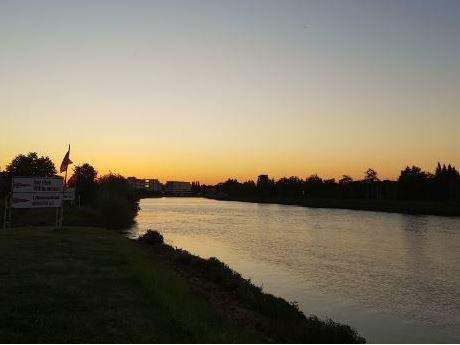 Nürnberg-Sonnenuntergang