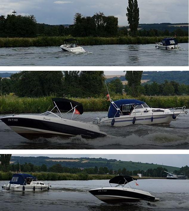 Bootsballett zum Fährenfestival