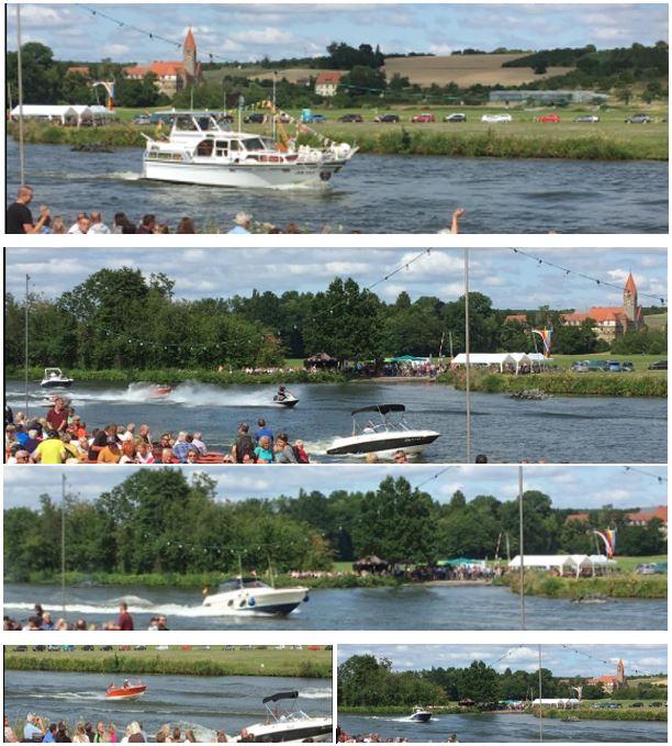 Fährenfestival-Vorbeifahrt