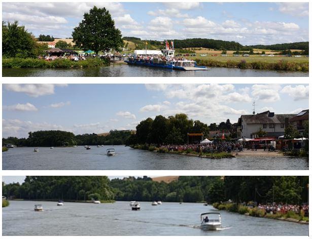 Fährenfestival mit Bootskorso